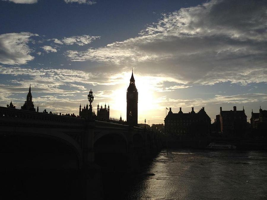 London Photograph - Shine On by Rossana Azzoni