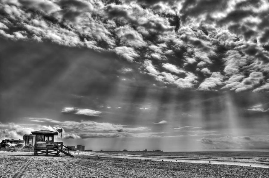 Beach Photograph - Shine On You Crazy Diamond by Evelina Kremsdorf