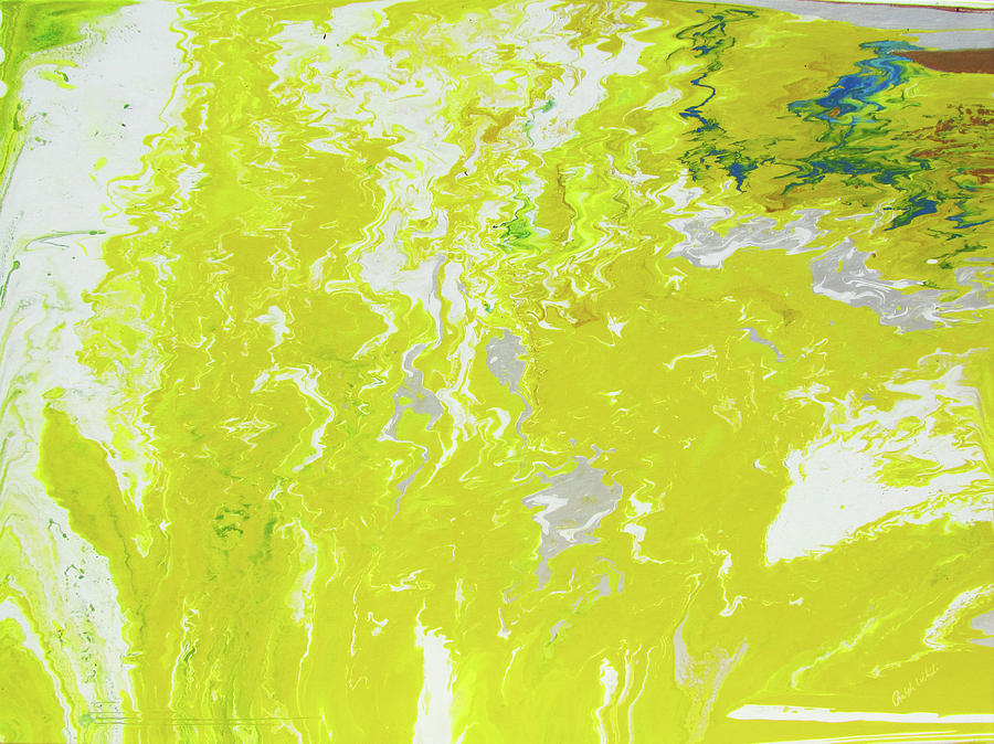 Abstract Painting - Shine by Ralph White