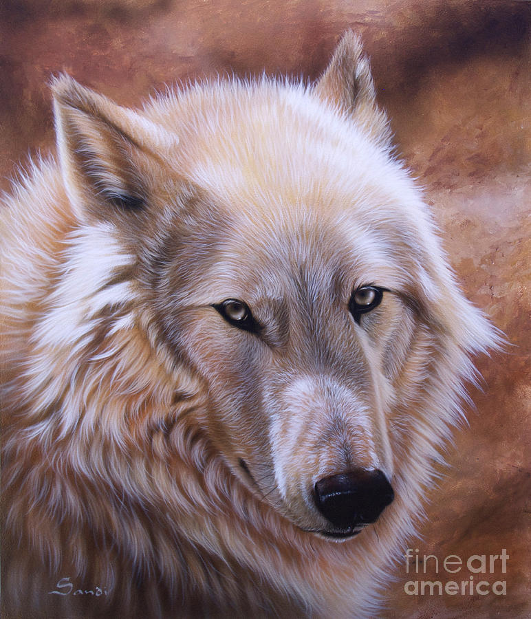 Acrylic Painting - Shine by Sandi Baker