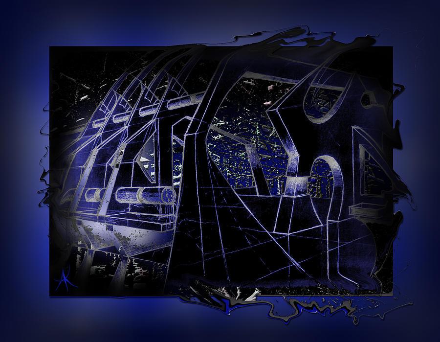 Graphic Design Digital Art - Ship Deck by Aaron Kreinbrook