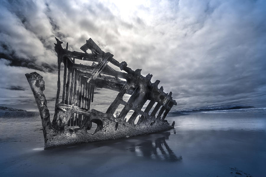 Ship Wreck by David Brookwell