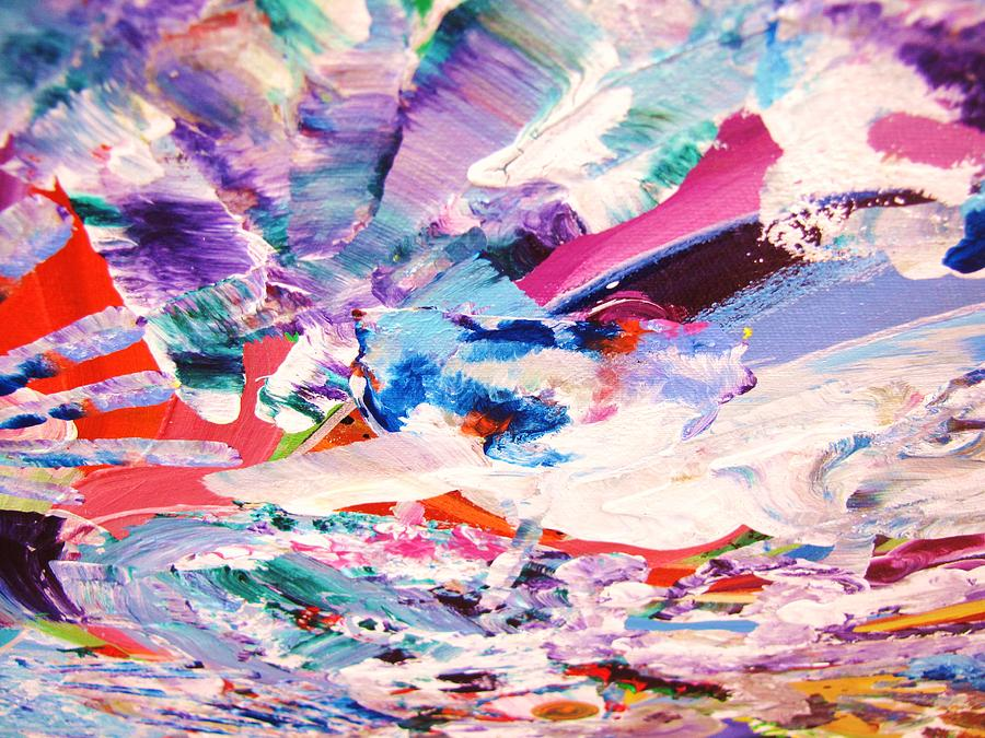 Heart Painting - Ship Wreck by HollyWood Creation By linda zanini