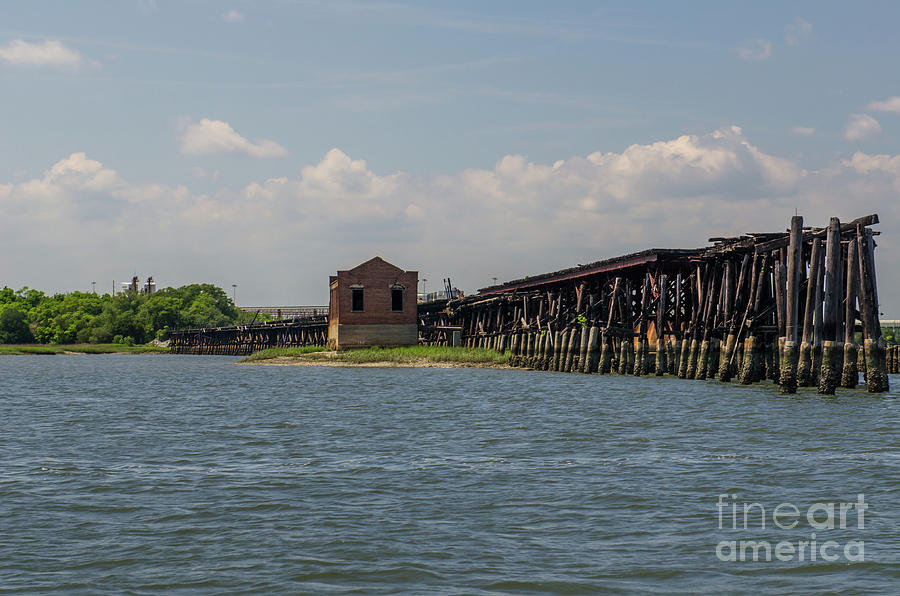 Coal Tipple Photograph - Shipping Terminal by Dale Powell