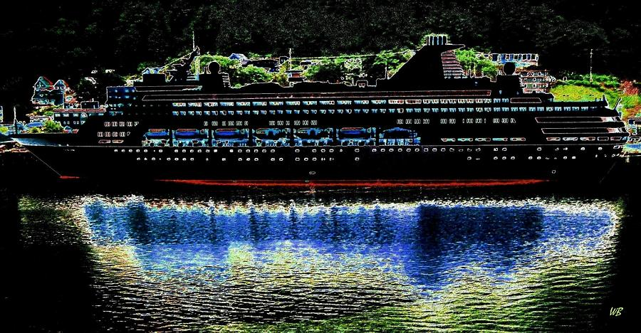 Juneau Digital Art - Shipshape 8 by Will Borden