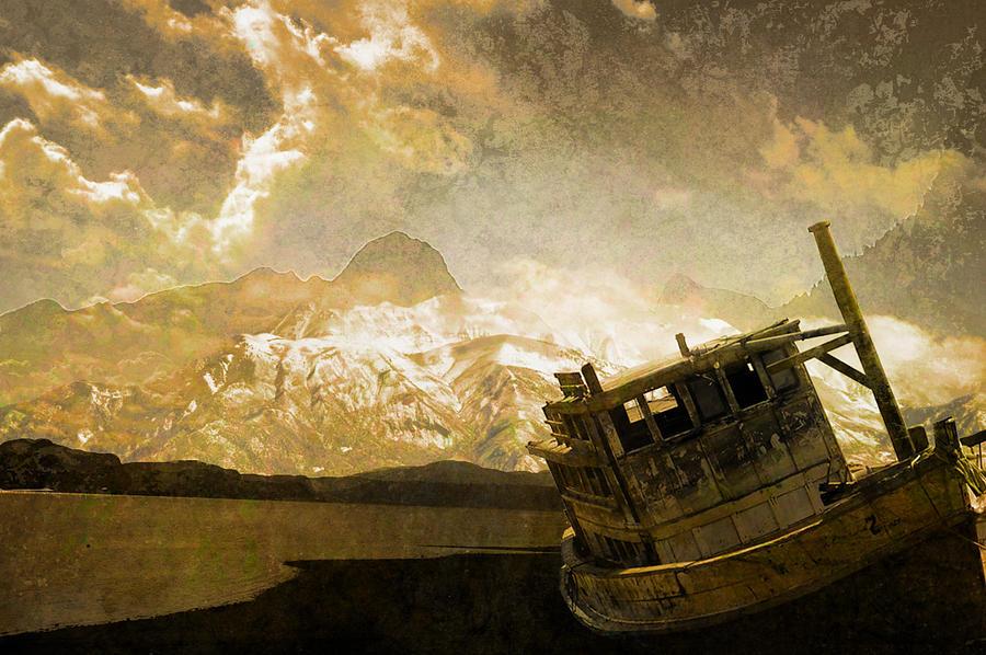 Ship Photograph - Shipwreck - Reload by Jeff Burgess