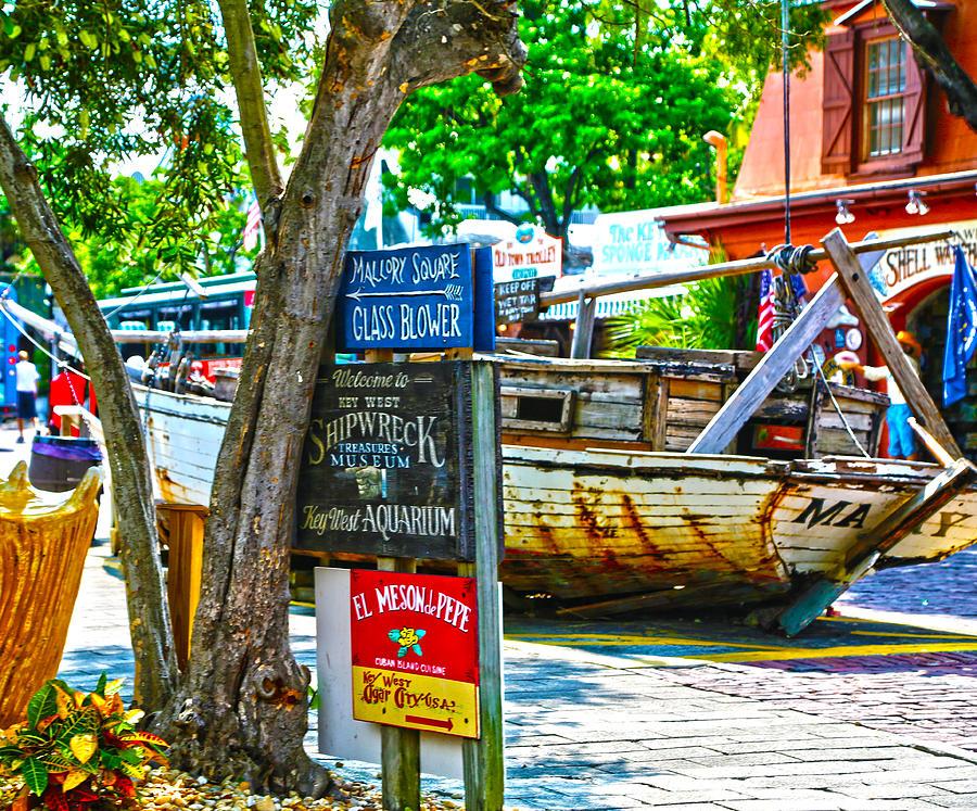 Key West Photograph - Shipwreck Museum Key West Florida by Lee Vanderwalker