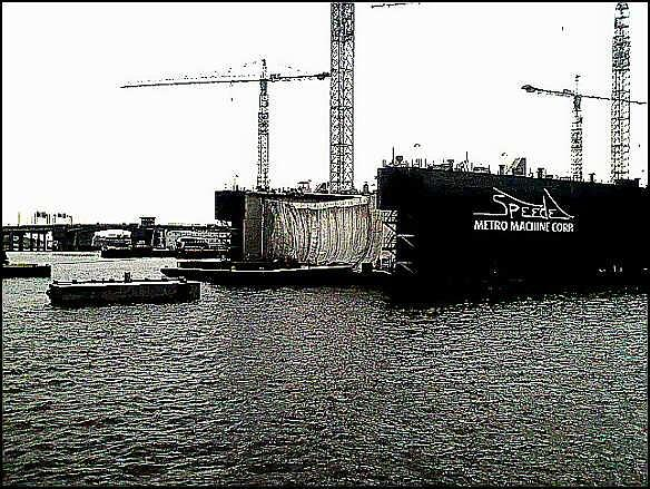 Shipyard Photograph - Shipyard by Chelsea Jones