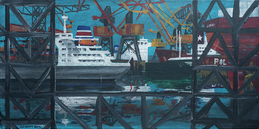 Shipyard by John Garfitt
