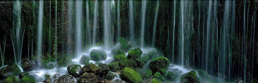 Color Image Photograph - Shiraito Falls Japan by Panoramic Images