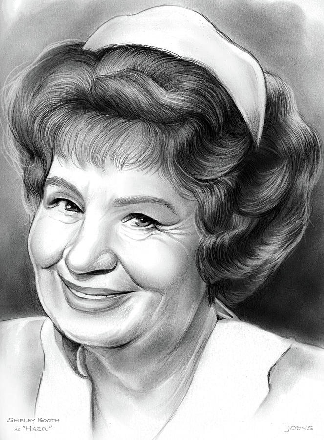 Shirley Booth Drawing