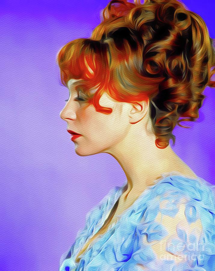 Shirley Maclaine, Hollywood Legend Painting