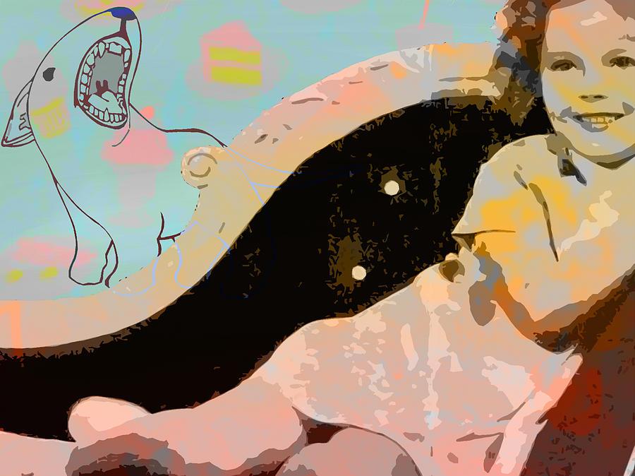 Girl Digital Art - Shirley Pop by Alfred Degens
