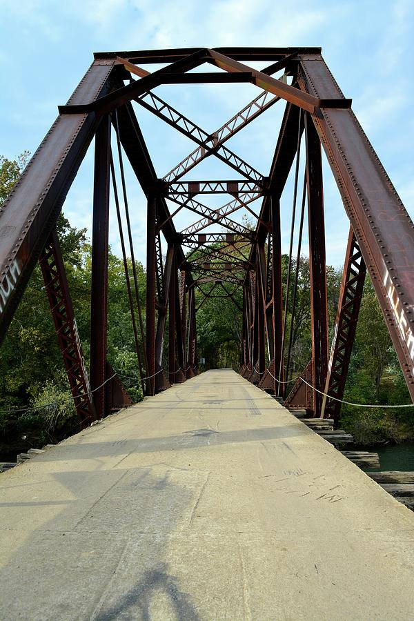 Bridge Photograph - Shirley Railroad Bridge 1 by Tamra Lockard