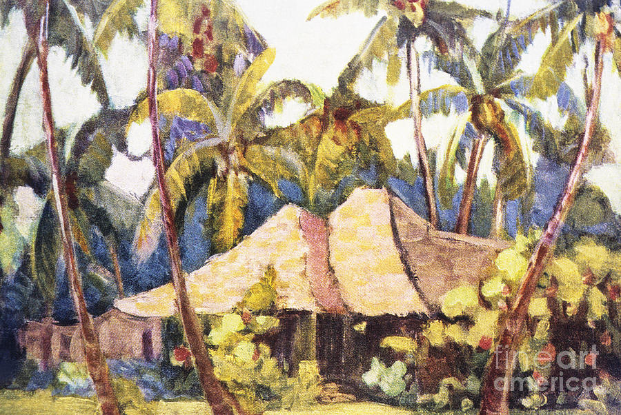 1938 Painting - Shirley Russell Art by Hawaiian Legacy Archive - Printscapes