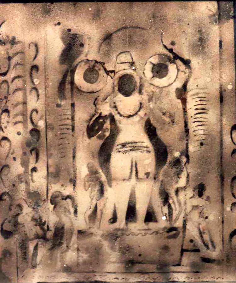 Shiva P3 Painting by Anand Swaroop Manchiraju