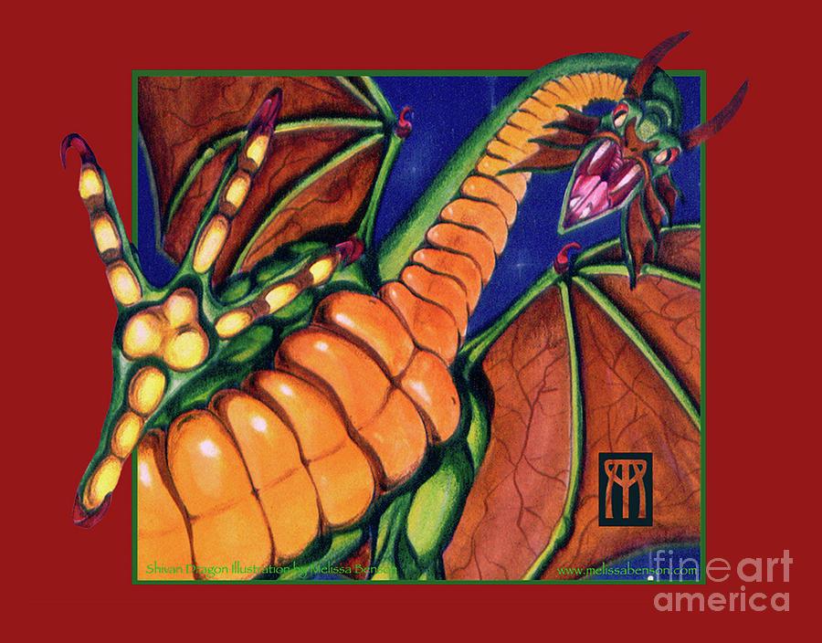 Shivan Dragon by Melissa A Benson
