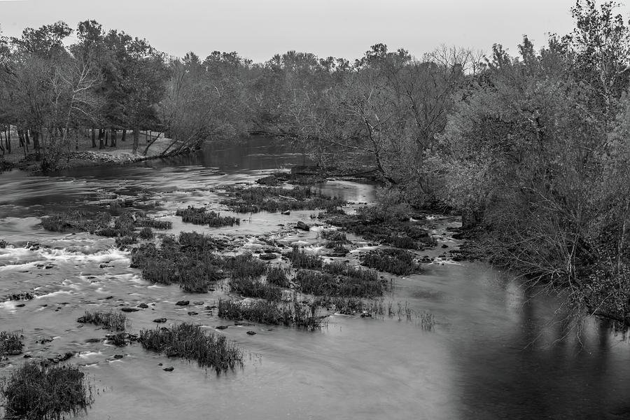 Shoal Creek Photograph - Shoal Creek In Joplin, Missouri by Michael Munster