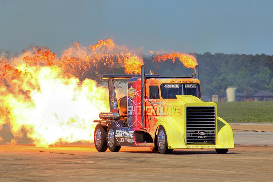 Shockwave Jet Truck Photograph By Michael Crowderphotography