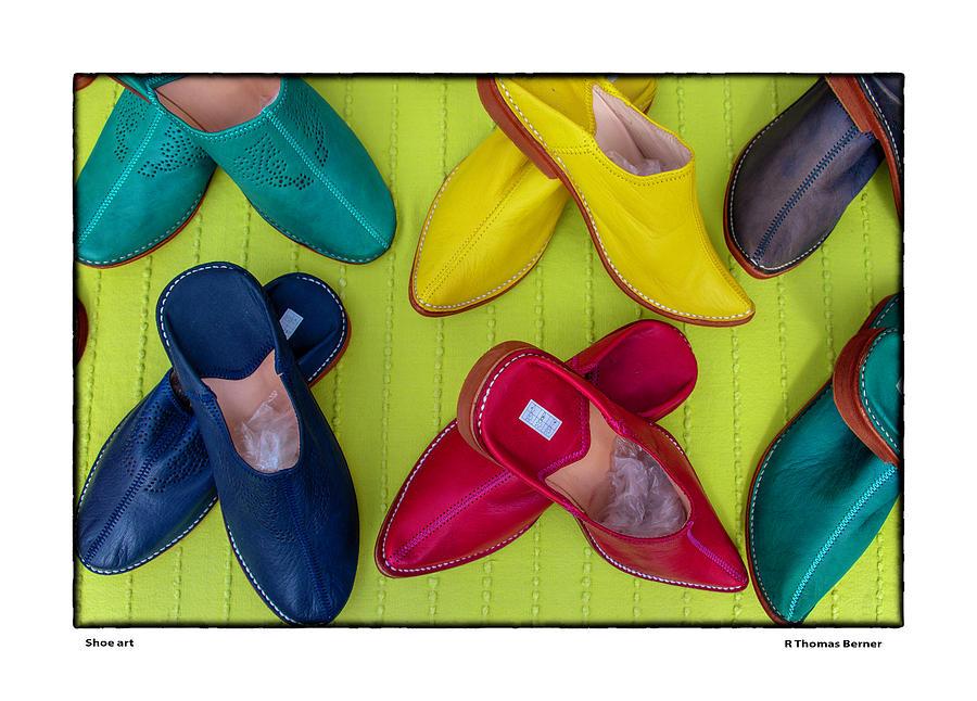 Shoe art by R Thomas Berner