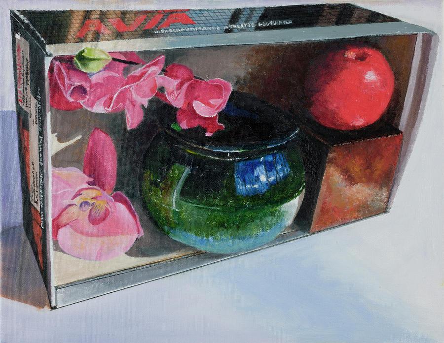 Shoebox Ceramic Treasures Painting by