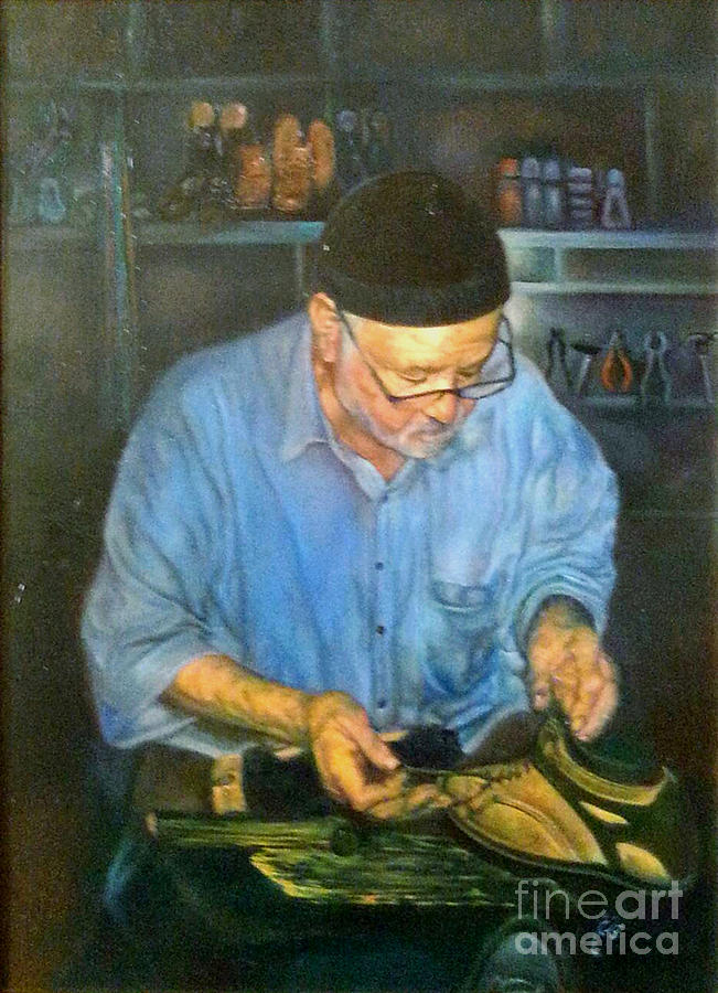 Image result for shoemaker painting