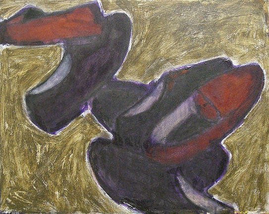 Still Life Painting - Shoes by Alexander Motyl