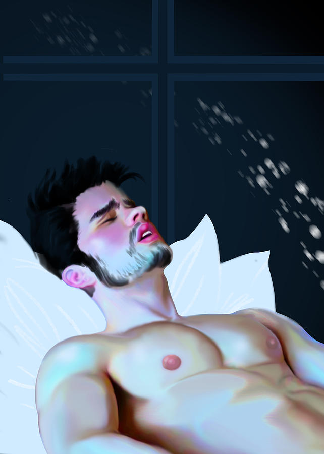 Gay Painting - Shooting Star by Bad Robin