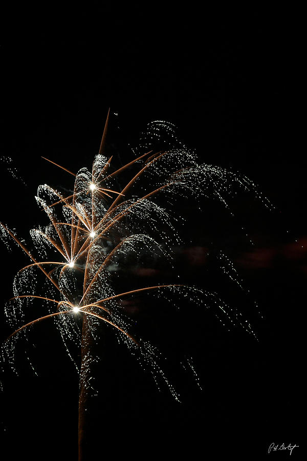 July 4th Photograph - Shooting Stars by Phill Doherty