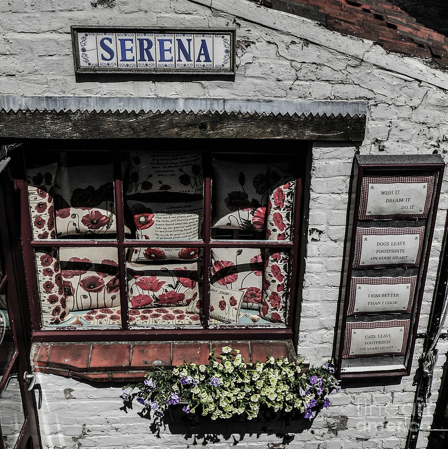 Shop Photograph - Shop Of Bruges by Lexa Harpell
