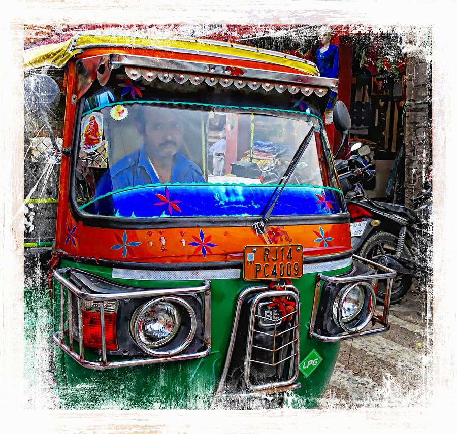 b312d769ac21 Shopping Bazaar Exotic Travel Street Scenes Tuk Tuks Rajasthan India Series  3