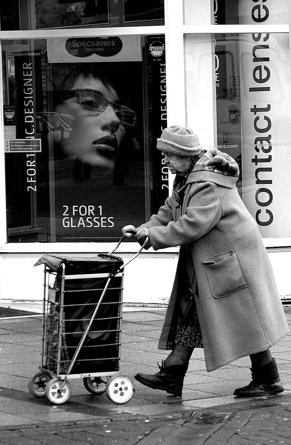Photographer Photograph - Shopping Trip 2 by Jez C Self