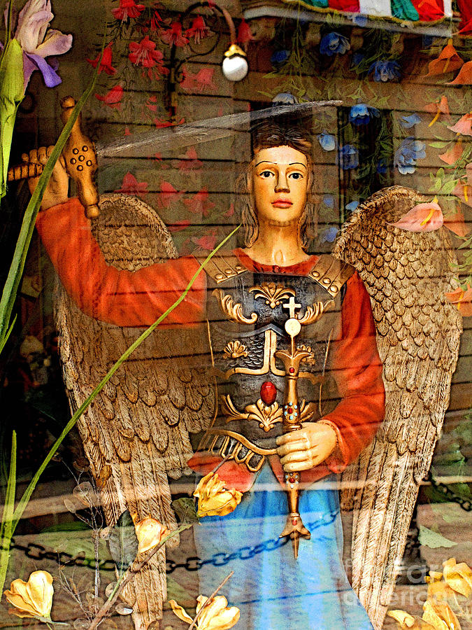 Darian Day Photograph - Shops Angel by Mexicolors Art Photography