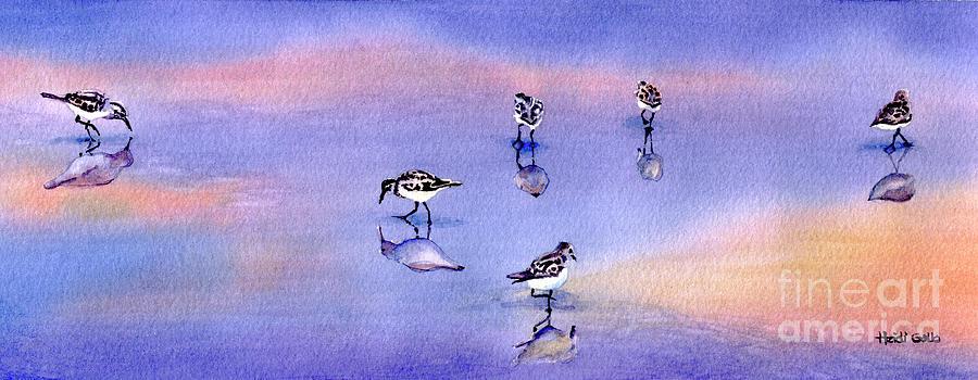 Shorebirds by Heidi Gallo