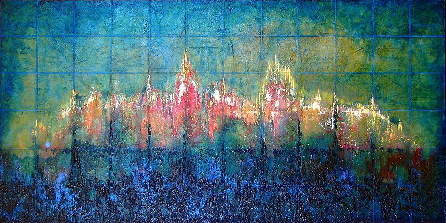 Seascape Painting - Shorebound by Shadia Derbyshire