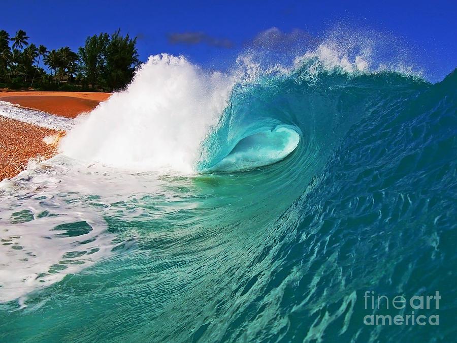 Ocean Photograph - Shorebreaker by Paul Topp