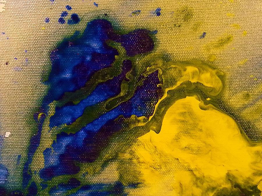 Shoreline 2 Painting by Jan Pellizzer