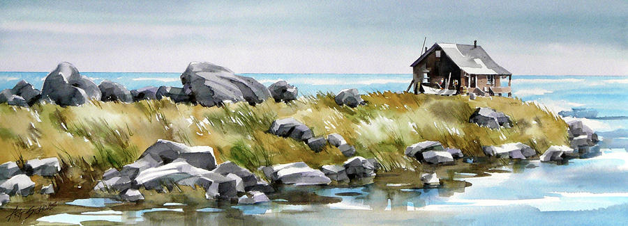 Shoreline Living Painting by Art Scholz