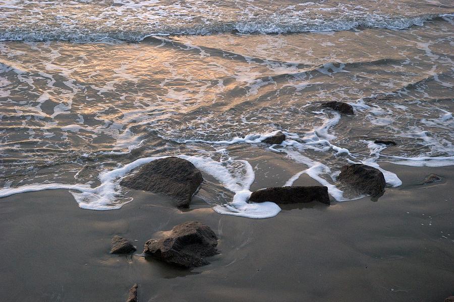 Gulf Of Mexico Photograph - Shoreline by Robert Anschutz