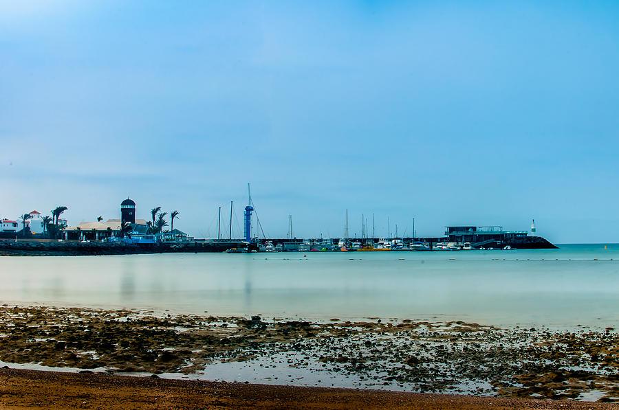 Fuertaventura Photograph - Shoreline View by Bert Geoghegan