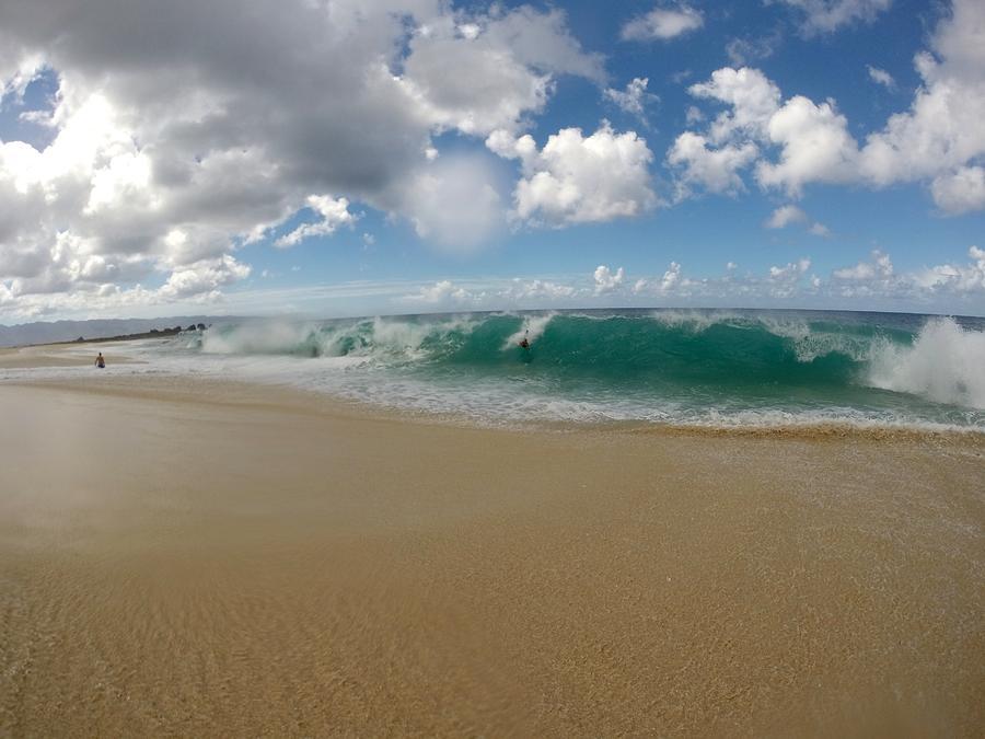 Wave Photograph - Shorepound by Benen Weir