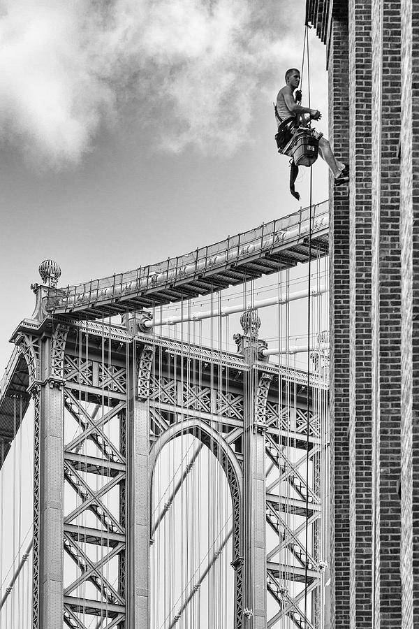 Brooklyn Photograph - Shortcut To Brooklyn by Michel Guyot