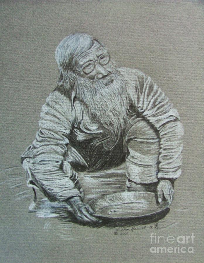 Portrait Drawing - Shorty by Dan Hausel