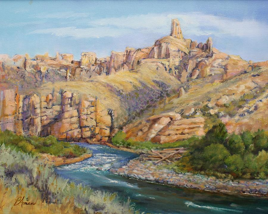 Shoshone canyon Holy City by Patricia Amen