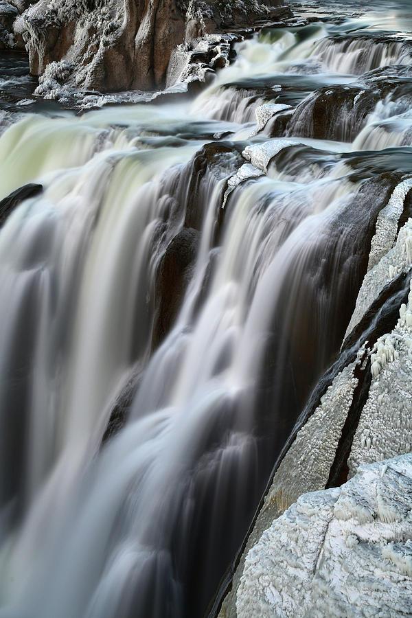 Shoshone Falls Photograph - Shoshone Falls Close Up by Surjanto Suradji