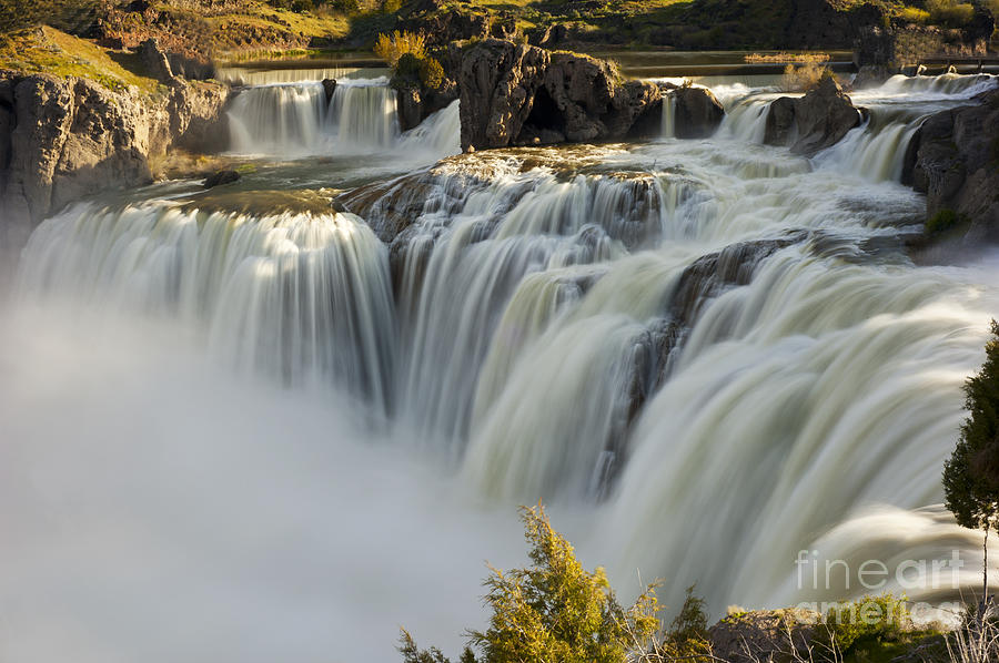 Shoshone Falls Photograph - Shoshone Falls in Spring by Dennis Hammer