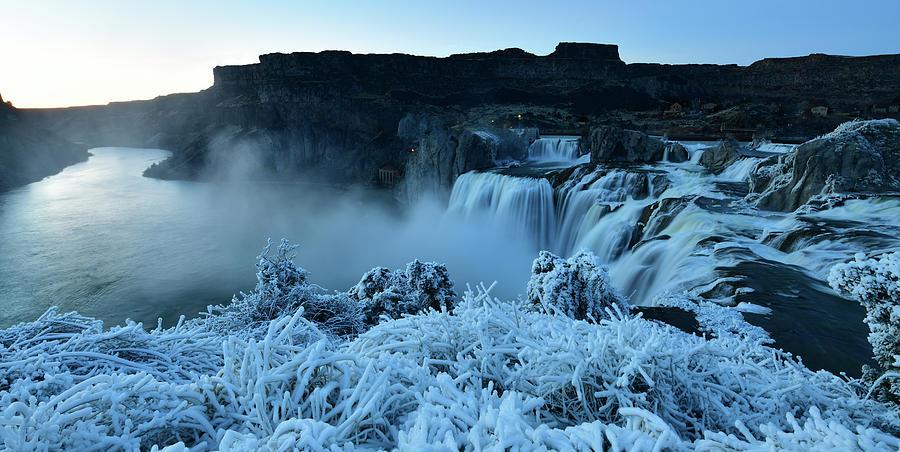 Shoshone Falls Photograph - Shoshone Falls Panorama by Surjanto Suradji