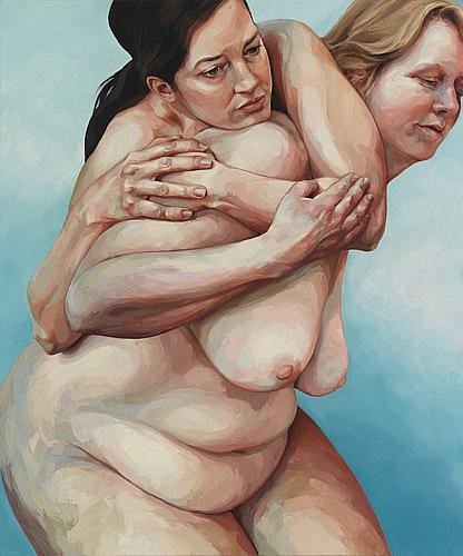 Nude Painting - Shoulder by Joyce Polance