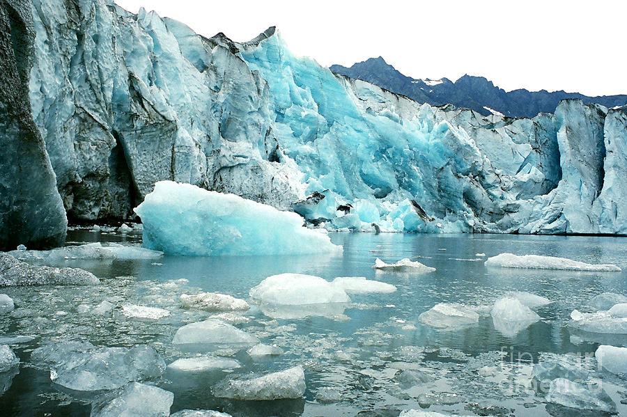 Glacier Photograph - Shoup Glacier by Frank Townsley