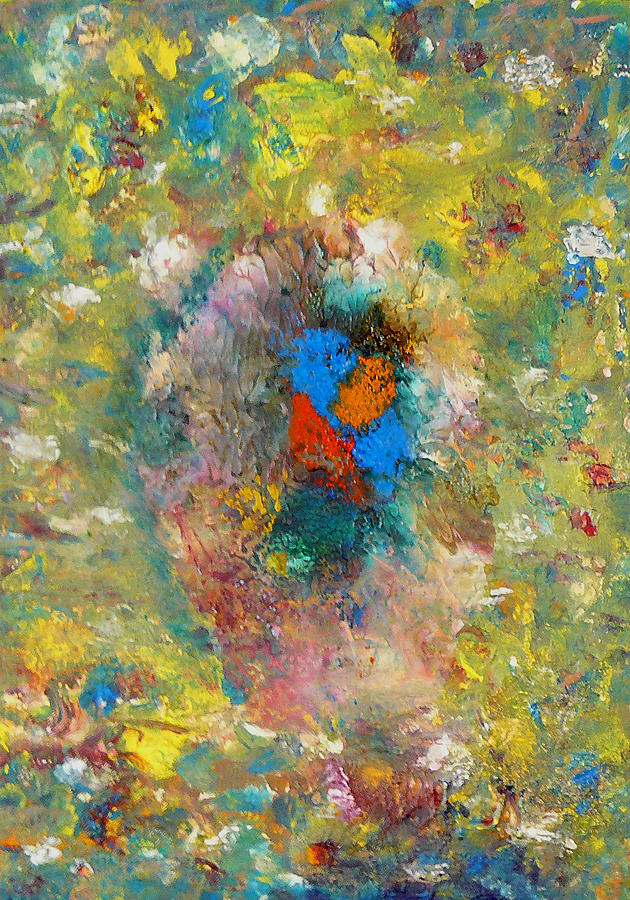 Abstract Painting - Shout by Greg Gierlowski